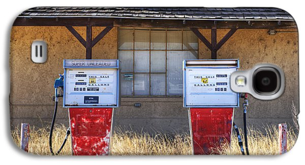 Not In Use Galaxy S4 Cases - Abandoned Gas Pumps and Station Galaxy S4 Case by Dave & Les Jacobs