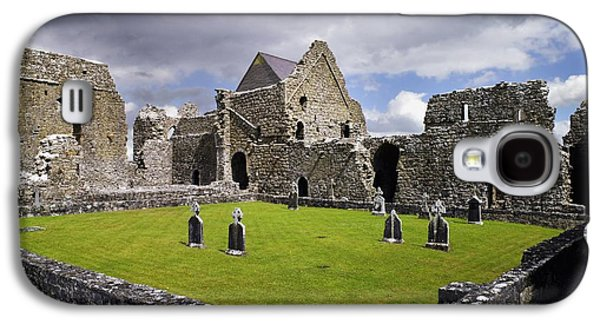 Monasticism Galaxy S4 Cases - Abbeyknockmoy, Cistercian Abbey Of Galaxy S4 Case by The Irish Image Collection