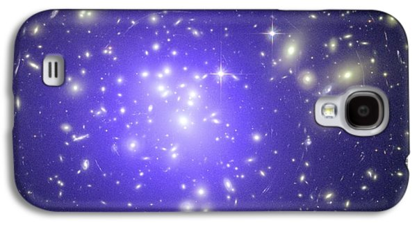 Intergalactic Space Galaxy S4 Cases - Abell 1689 Galaxy Cluster, X-ray Image Galaxy S4 Case by Nasacxcstscimite-h Peng Et Al