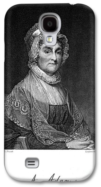 First Lady Galaxy S4 Cases - Abigail Adams (1744-1818) Galaxy S4 Case by Granger