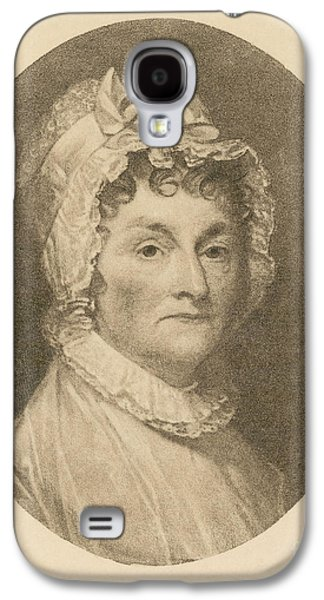 First Lady Galaxy S4 Cases - Abigail Adams Galaxy S4 Case by Photo Researchers