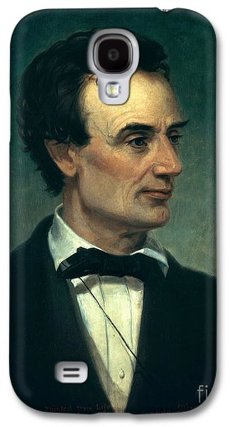 Self Shot Photographs Galaxy S4 Cases - Abraham Lincoln, 16th American President Galaxy S4 Case by Photo Researchers, Inc.