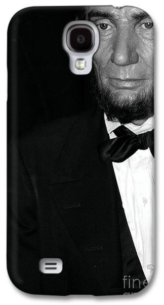 Statue Portrait Galaxy S4 Cases - Abraham Lincoln Galaxy S4 Case by Sophie Vigneault
