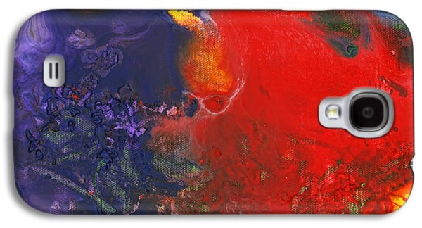 Temperament Galaxy S4 Cases - Abstract - Crayon - Andromeda Galaxy S4 Case by Mike Savad