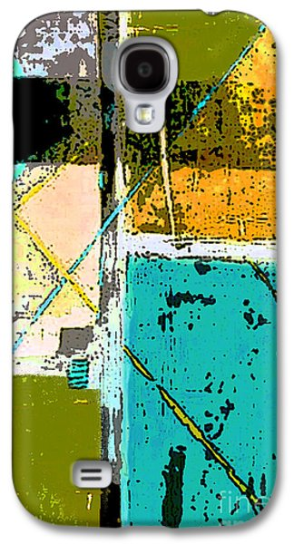 Color Block Galaxy S4 Cases - Abstract 2 Galaxy S4 Case by Glennis Siverson