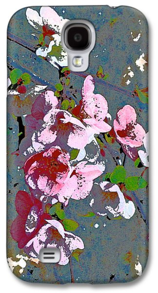Nature Abstracts Galaxy S4 Cases - Abstract 212 Galaxy S4 Case by Pamela Cooper