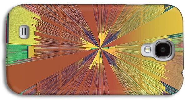 Abstract Digital Digital Art Galaxy S4 Cases - Abstract 4 Galaxy S4 Case by Deborah Benoit