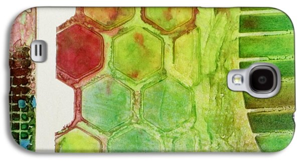Boardroom Mixed Media Galaxy S4 Cases - Abstract Fifteen Galaxy S4 Case by David Raderstorf