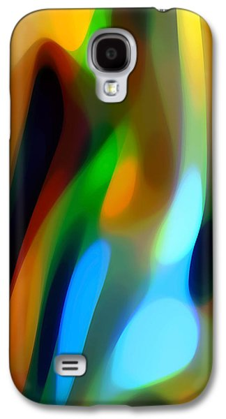 Abstract Forms Galaxy S4 Cases - Abstract Garden Light Galaxy S4 Case by Amy Vangsgard