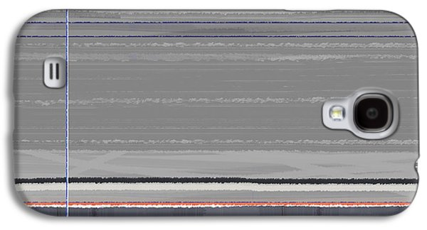 Modern Abstract Galaxy S4 Cases - Abstract Grey Galaxy S4 Case by Naxart Studio