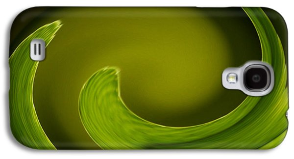 Abstract Digital Photographs Galaxy S4 Cases - Abstract Helecho  Galaxy S4 Case by Melanie Moraga
