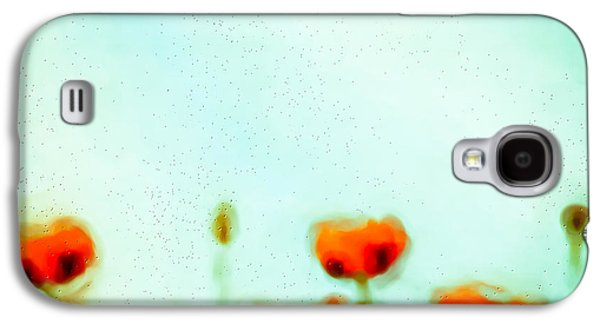 Abstract Digital Photographs Galaxy S4 Cases - Abstract Poppies Galaxy S4 Case by Tom Gowanlock