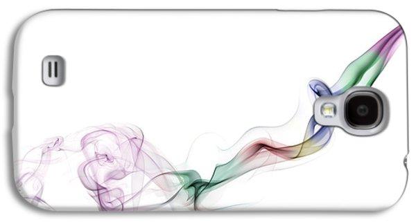 Magical Photographs Galaxy S4 Cases - Abstract smoke Galaxy S4 Case by Setsiri Silapasuwanchai