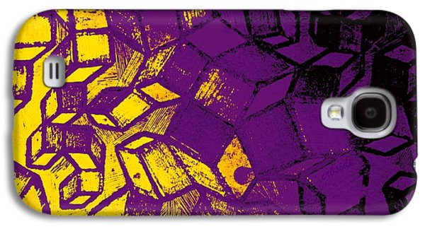 Abstract Digital Photographs Galaxy S4 Cases - Abstract Zinc Etching Plate Galaxy S4 Case by Chris Berry
