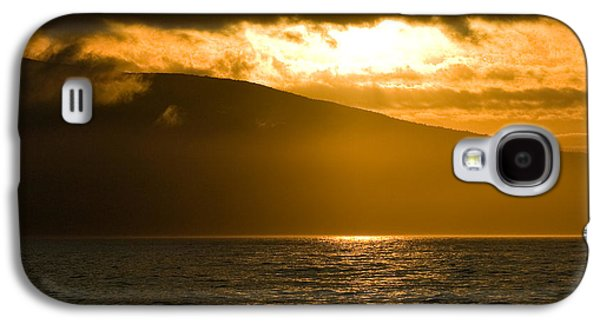 Sun Galaxy S4 Cases - Acadia National Park Sunset Galaxy S4 Case by Sebastian Musial