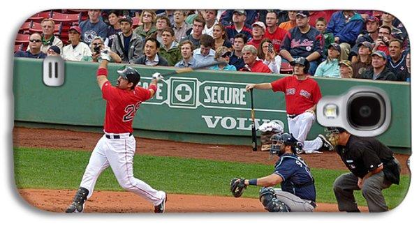 Red Sox Art Galaxy S4 Cases - Adrian Gonzalez Galaxy S4 Case by Juergen Roth