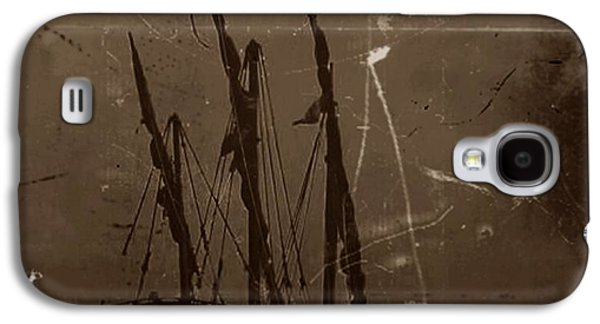 Portuguese Mixed Media Galaxy S4 Cases - Adrift in a Sea Mist Galaxy S4 Case by Blair Stuart