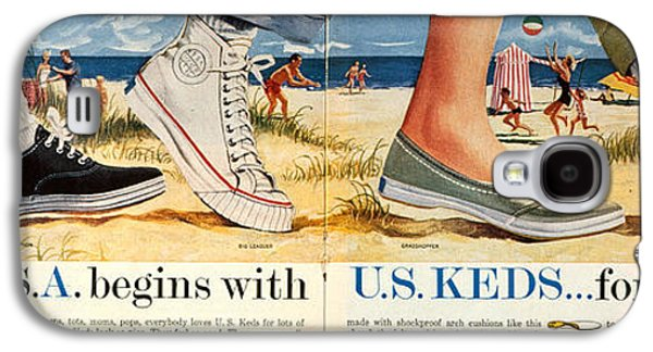 Sneaker Galaxy S4 Cases - Advert: Keds Sneakers 1959 Galaxy S4 Case by Granger