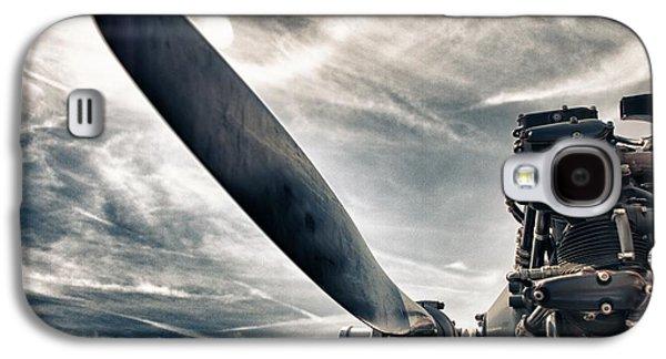 Airplane Photographs Galaxy S4 Cases - Aero Machine Galaxy S4 Case by Nathan Larson