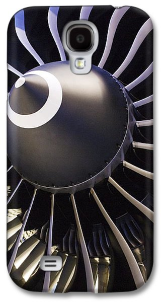 Technological Photographs Galaxy S4 Cases - Aeroplane Engine Galaxy S4 Case by Mark Williamson