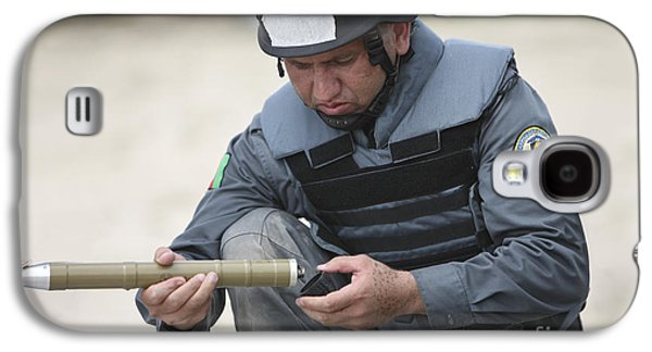 Rpg Galaxy S4 Cases - Afghan Police Student Prepares Galaxy S4 Case by Terry Moore