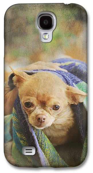 Canines Digital Galaxy S4 Cases - After The Bath Galaxy S4 Case by Laurie Search