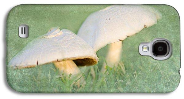 Mushroom Digital Art Galaxy S4 Cases - After the Rain Galaxy S4 Case by Betty LaRue