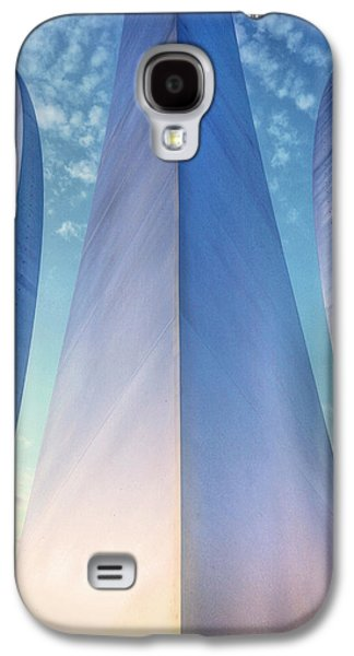4th July Galaxy S4 Cases - Air Force Memorial Galaxy S4 Case by JC Findley