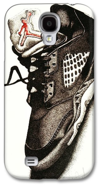 Nike Galaxy S4 Cases - Air Jordan Galaxy S4 Case by Robert Morin