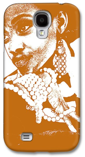 Jewelry Galaxy S4 Cases - Aisha Brown Galaxy S4 Case by Naxart Studio