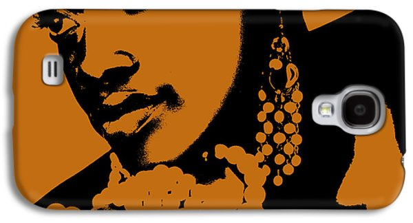 African-american Galaxy S4 Cases - Aisha Galaxy S4 Case by Naxart Studio