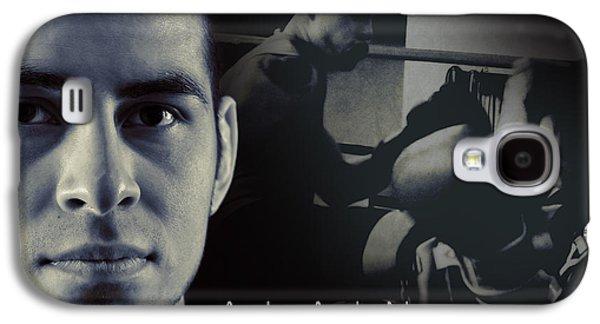 Boxer Galaxy S4 Cases - Alain Hernandez Mixed Martial Artist Galaxy S4 Case by Lisa Knechtel