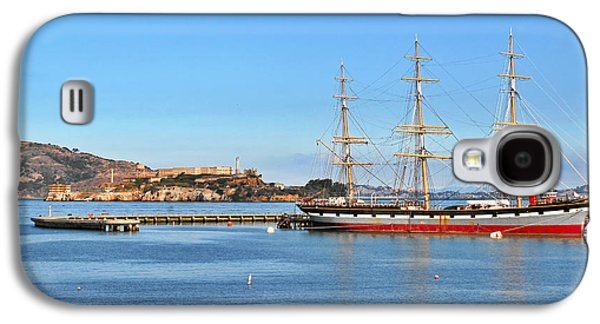 Historic Schooner Galaxy S4 Cases - Alcatraz - No escape Galaxy S4 Case by Christine Till