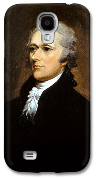 America Paintings Galaxy S4 Cases - Alexander Hamilton Galaxy S4 Case by War Is Hell Store