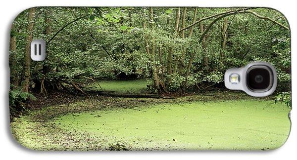 Algal Galaxy S4 Cases - Algal Bloom In Pond Galaxy S4 Case by Michael Marten