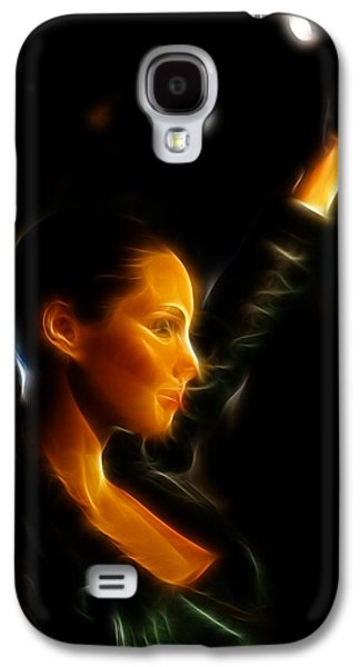Strapless Dress Galaxy S4 Cases - Alicia Keys - Singer Galaxy S4 Case by Lee Dos Santos
