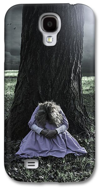 Eerie Galaxy S4 Cases - Alone At Night Galaxy S4 Case by Joana Kruse