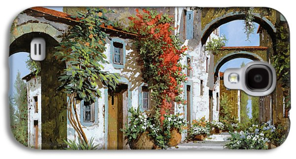 Street Paintings Galaxy S4 Cases - Altri Archi Galaxy S4 Case by Guido Borelli