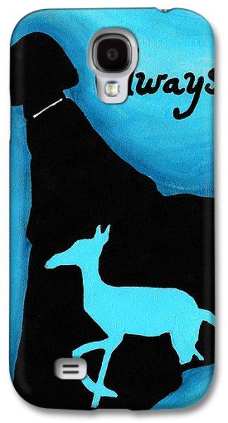 Mix Medium Drawings Galaxy S4 Cases - Always Doe in Snape Galaxy S4 Case by Jera Sky