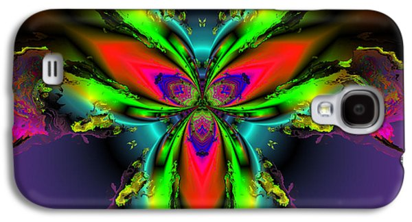 Algorithmic Abstract Galaxy S4 Cases - Ambassador of color Galaxy S4 Case by Claude McCoy