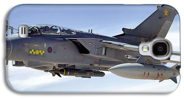 Mechanism Galaxy S4 Cases - An Raf Tornado Gr-4 Takes On Fuel Galaxy S4 Case by Stocktrek Images