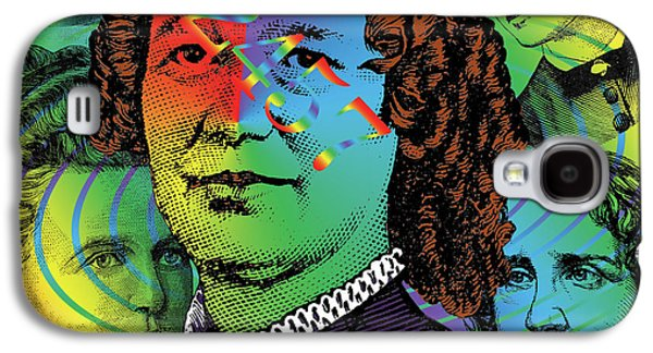 Digital Collage Galaxy S4 Cases - Ancestral Memory Galaxy S4 Case by Eric Edelman