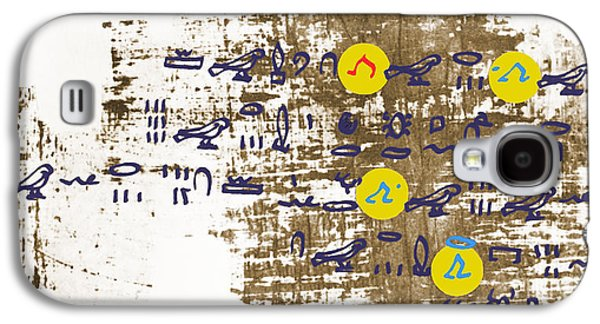 Papyrus Galaxy S4 Cases - Ancient Calculation Galaxy S4 Case by Photo Researchers, Inc.