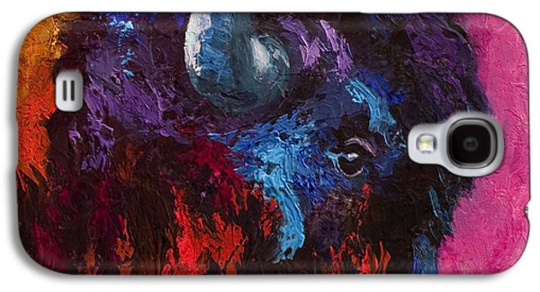 Bison Galaxy S4 Cases - Ancient Soul - Bison Galaxy S4 Case by Marion Rose