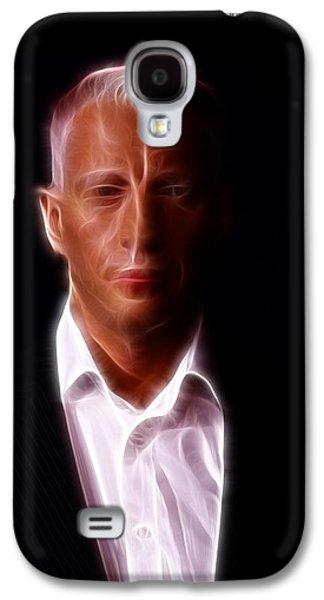 Autographed Art Galaxy S4 Cases - Anderson Cooper - CNN - Anchor - News Galaxy S4 Case by Lee Dos Santos