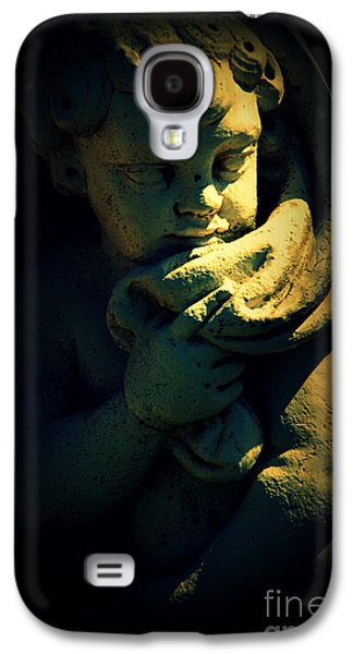 Statue Portrait Galaxy S4 Cases - Angela Galaxy S4 Case by Susanne Van Hulst