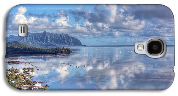 Fish Pond Galaxy S4 Cases - Another Kaneohe Morning Galaxy S4 Case by Dan McManus