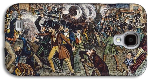 Anti-discrimination Galaxy S4 Cases - Anti-catholic Mob, 1844 Galaxy S4 Case by Granger