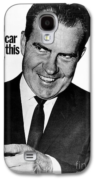 Republican Party Galaxy S4 Cases - Anti-nixon Poster, 1960 Galaxy S4 Case by Granger