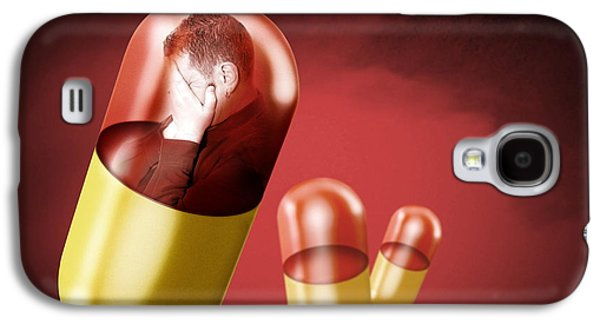 Antidepressant Galaxy S4 Cases - Antidepressant Medication Galaxy S4 Case by Victor Habbick Visions